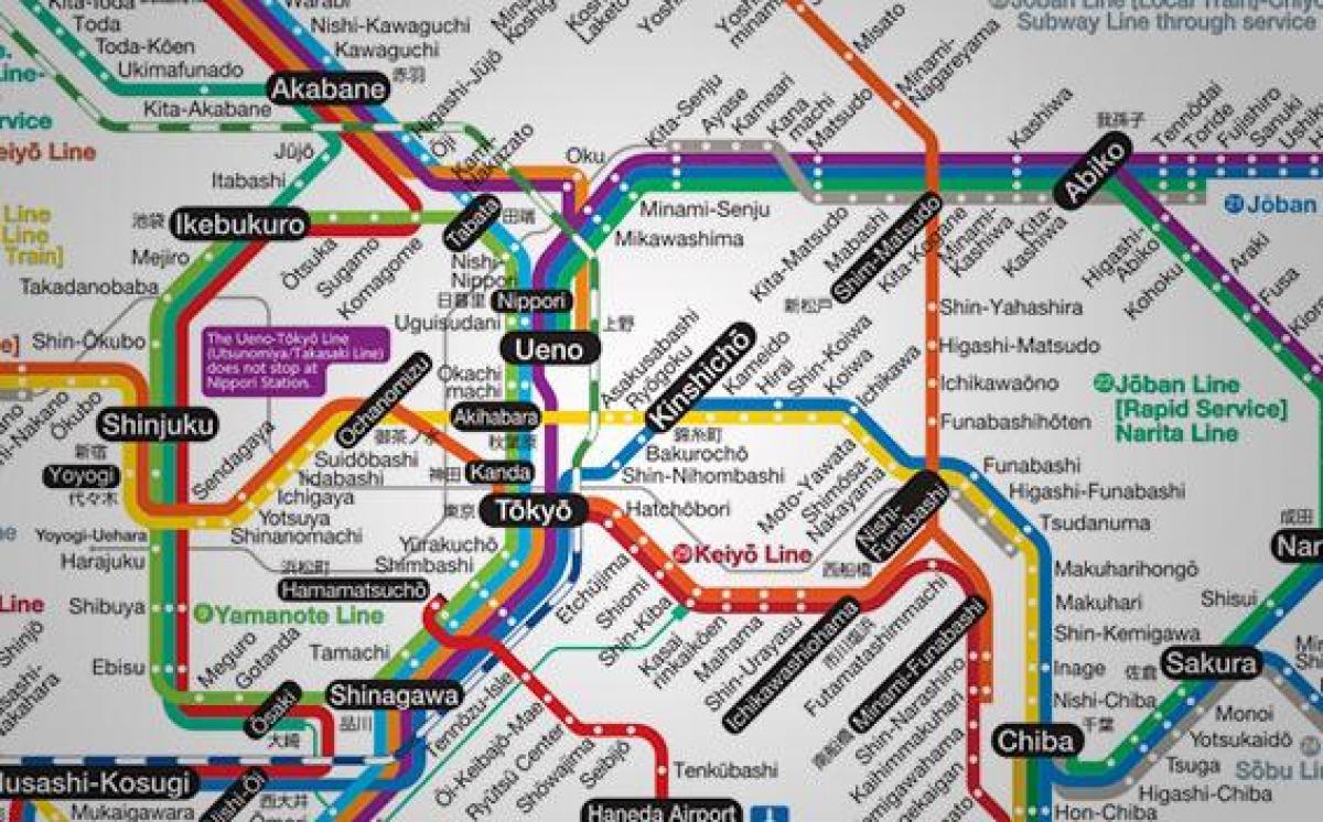 subway japan map
