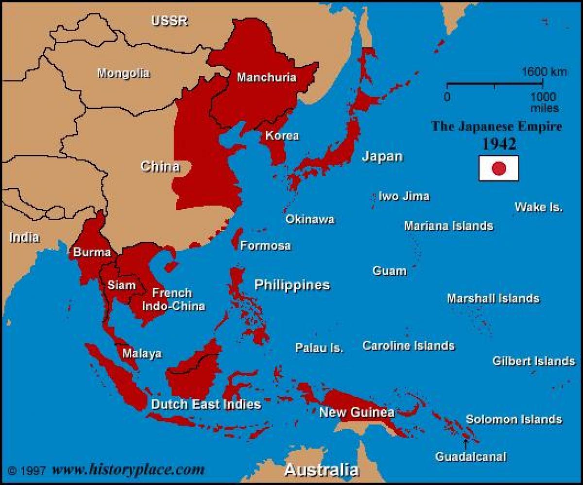 Japan world war 2 map world war 2 japan map eastern asia asia world war 2 japan map gumiabroncs Images